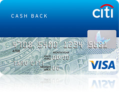 シティキャッシュバックカード券面画像