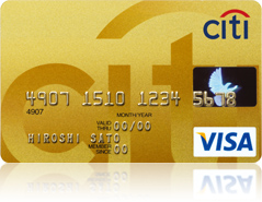 シティゴールドカード券面画像